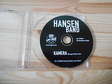 CD Punk Hansen Band - Kamera (1 Song) Promo GRAND HOTEL VAN CLEEF cd only