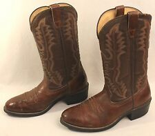 Men's Iron Age Steel Toe Size 9 ½ EE Brown Cowboy Boots