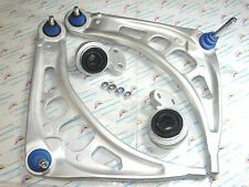 BMW E46 323i 325i 328i Z4 2 Front Lower Control Arms & 2 Bushings With Retainers