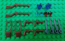 *NEW* Lego Bulk Musket Rifles Pistols Swords Gems Crystals for Minifigures Figs