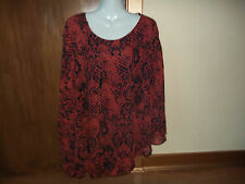 womans snakeskin print blouse/top from TFNC size 10/12 app in v good condition