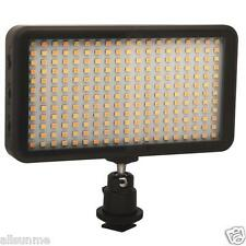 228 LED Video Light Lamp Panel Dimmable 2000LM For DSLR Camera DV Camcorder N5V1