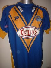 Leeds Rhinos Adult Small Patrick Rugby League Shirt Jersey Tetleys Vintage Top H