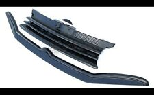 VW Golf MK4 4 Debadged Badgeless Front Grill + Eye Brow Eyelid Spoiler Set 97-05