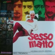 Armando Trovaioli ‎– Sesso Matto LP Sonor Music Editions Italian Soundtrack OST
