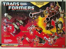 Transformers Reissue G1 Technobots『Computron』Giftbox Set MISB