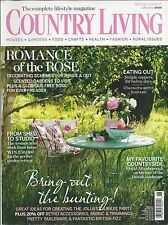 Country Living magazine Party ideas Indoor and outdoor decorating Simple suppers