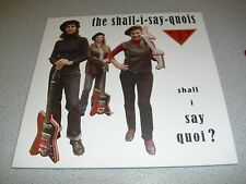 "the shall-i-say-quois feat. CTMF - colored 10 "" Vinyl // Neu // Damaged Goods"