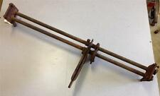 1928 PONTIAC Drop Cross Shaft & Mounting Bolts for Restore - Nice Straight Piece