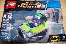 Lego # 30303 DC Super Heroes THE JOKER BUMPER CAR 47 pcs. NEW