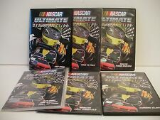 NASCAR 6 DVD LOT  2007-2010 ( watched once ) FREE SHIP / GIFT