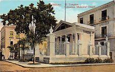 Cuba postcard Havana Habana El Templete Colombus Memorial Chapel