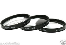 NEW Genuine HOYA 58mm Multicoated Close-up Lent Set (+1 +2 +4) 58mm Camera Lens