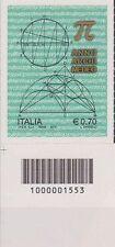 1553 CODICE A BARRE LATO SINISTRO Archimedeo  0,70 ANNO 2013