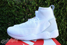 NIKE ZOOM MERCURIAL FLYKNIT SZ 13 WHITE WOLF GREY PURE PLATINUM 844626 100
