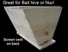 2 Top bar beehives,  bait hive, Catch your own swarm (lot of two hives)