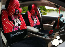 2017 new red Cartoon Mickey Mouse car seat cover seat covers car-covers 1 set