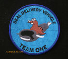 XL US NAVY SEAL TEAM SEAL DELIVERY VEHICLE PATCH SDVT1 SPECIAL OPERATIONS SCUBA
