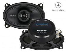 CRUNCH 6x4 COAXIAL SPEAKERS FOR MERCEDES BENZ W126 S-CLASS