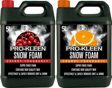 SNOW FOAM CAR SHAMPOO WAX VEHICLE WASH VALET CLEANING SHINE WASHER PROKLEEN 10L