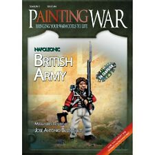 PITTURA DI GUERRA-VOLUME 4-British NAPOLEONICO-MINIATURES Guide-inviati 1st Class