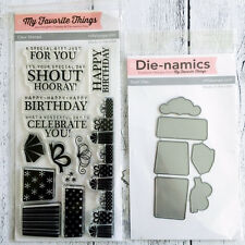My favourite Things Celebrate You Stamps & Die, Stamping, Craft, Scrapbooking