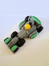 Edible F1 Car Lewis Hamilton Detailed Cake Topper Decoration