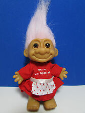 "VALENTINE YOU'RE VERY SPECIAL GIRL - 5"" Russ Troll Doll - NEW IN BAG"