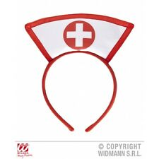 Nurse Headpiece Hat for Hospital Doctors Fancy Dress Accessory