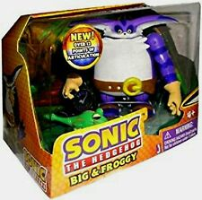 """Sonic The Hedgehog 4"""" BIG the Cat & Froggy New Over 12 Points of Articulation"""