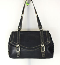 Cole Haan Black Leather Shoulder bag Purse Women's  Handbag