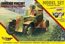 WZ.34 POLISH ARMOURED CAR (GIFT SET W/GLUE, BRUSH, VALLEJO PAINTS) 1/35 MIRAGE