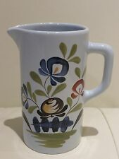"French Pottery Dutertre Desvres France Pitcher - 6"" Tall"