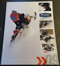 2009 POLARIS SNOWMOBILE APPAREL & ACCESSORIES BROCHURE 20 PAGES  (845)