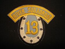 US Navy RIVER ASSAULT SQUADRON 13 Vietnam War Patch