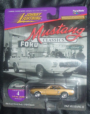 Mustang 1963 ii show voiture mustang classics 2 #4 johnny lightning usa import