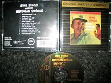MFSL ORO CD Bing Crosby, Buddy Bregman Bing Cavallina whilst Bregman muovete Jazz