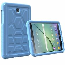 Poetic Turtle Skin Series Protective Silicone Case For Galaxy Tab A 8.0 Blue