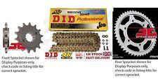 DID- Gold X Ring Motorcycle Heavy Duty Kit fits Suzuki GSX1250 FA-L1 ST 11