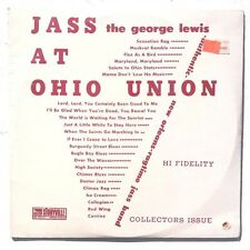 Sealed George Lewis Authentic New Orleans Ragtime Band JASS AT OHIO UNION