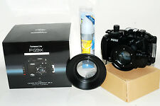 fantasea FG9X custodia sub housing underwater + BigEye Lens M67 Mark II