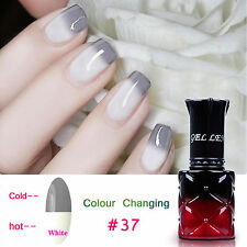 8ml Soak off  Gel Color Change Temperature UV Gel Nail Polish Nail Art DIY 37