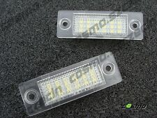 SKODA SUPERB 3U VW PASSAT B6 REAR REGISTRATION NUMBER PLATE LED LIGHTS  XENON EF