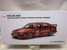 VOLVO 850 JIM RICHARDS BATHURST WINNER SUPPORT RACE 1996 SIGNED CERTIFICATE