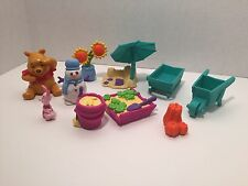 DISNEY Winnie the Pooh Figures Playset CHANGING SEASONS Summer Fall Spring Winte