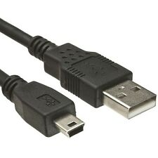 Cable Mini USB a USB NEGRO 75cm para Pentax Optio RS1500 a430