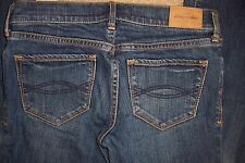 GIRLS ABERCROMBIE KIDS SIZE 14 - CUTE STRETCH - HALEY DENIM JEANS - USED AA