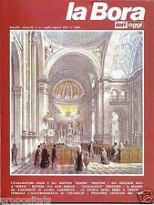 lbr 3/6 TRIESTE - LA BORA Ieri Oggi - Anno III - n.6 - luglio agosto 1979
