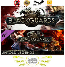Blackguards - Deluxe Edition + Untold Legends DLC PC & Mac Digital STEAM KEY