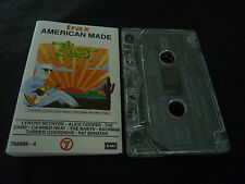 TRAX AMERICAN MADE RARE AUSSIE CASSETTE TAPE! ALICE COOPER CANNED HEAT MEATLOAF